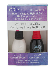 The Boulevard Color Amp'd Flawless Gel Kit