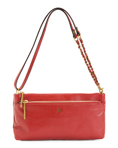 Convertible Leather Crossbody