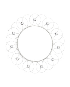 20in Round Metal Hoop Mirror