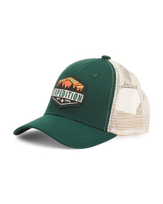 Embroidered Uncle Mesh Back Trucker Hat