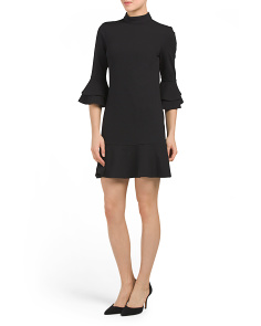 Juniors Mock Neck Dress