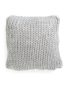 20x20 Soft Knitted Pillow