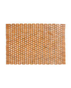 Lattice Bamboo Wood Mat