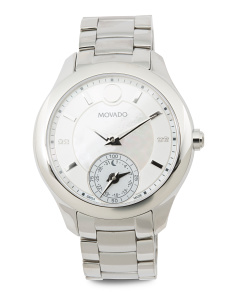 Women's Swiss Made Smartwatch With Diamond Accents