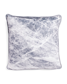 20x20 Marble Printed Pillow