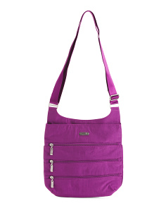 3 Zip Crossbody