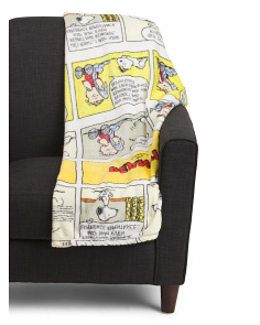 Comic Velvetloft Throw