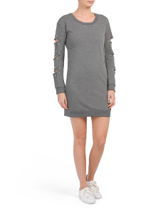 Juniors Sweatshirt Dress