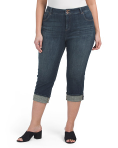 Plus Emma Cropped Jeans