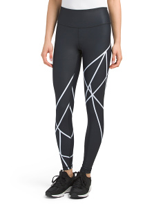 Made In USA Geo Sculpt Leggings