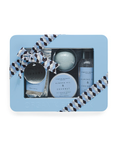4pc Shimmer Bath Gift Set