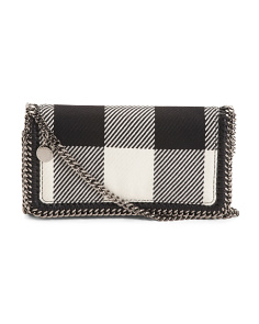 Checker Mix Fallbella Crossbody