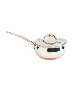Made In Italy Stainless VTR Saucepan