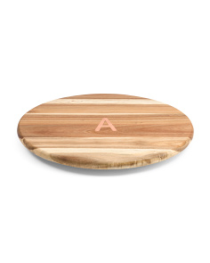 Acacia Wood Lazy Susan Turntable