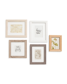 5pc Gallery Wall Framing Set