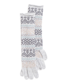 Rocky Mountain Fairisle Gloves