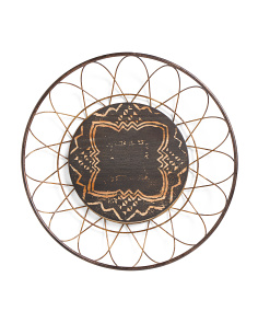 Round Medallion Wall Art