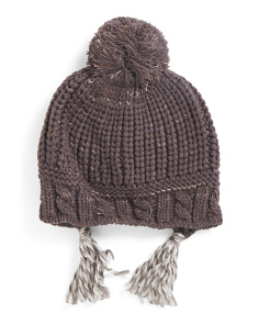 Hand Knit Trapper Hat