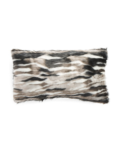 Made In USA 14x21 Faux Fur Pillow
