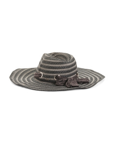 Full Brimmed Straw Sun Hat