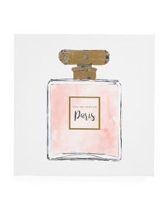 16x16 Perfume Canvas Wall Art