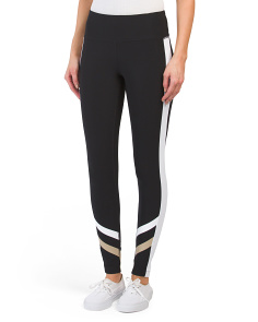 Sprint Stripe Hem Leggings