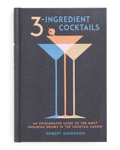 3-ingredient Cocktails Book