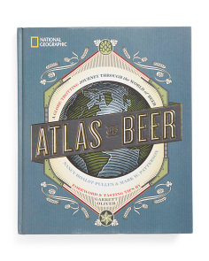 Atlas Of Beer Coffee Table Book