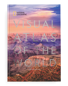 Visual Atlas World 2 Coffee Table Book