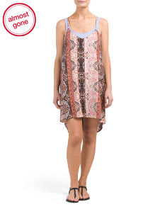 Eclipse Rhapsody Tunic Cover-up