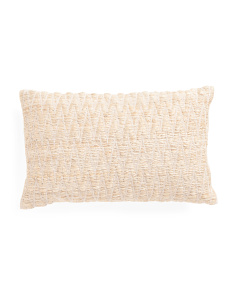 Made In India 13x21 Textured Pillow