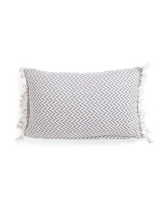 Made In India 14x24 Fringed Pillow