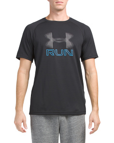 Mileage Short Sleeve Graphic Top