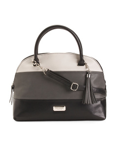 Willow Dome Colorblock Satchel