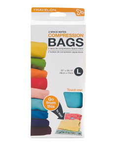 Set Of 2 Large Vacuum Seal Bags