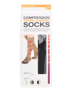 Large Sporty Thick Compression Socks