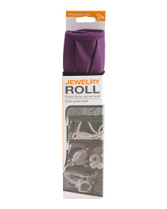 Packable Jewelry Roll