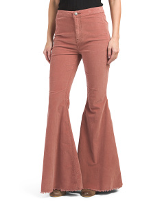 Just Float On Corduroy Flare Pants