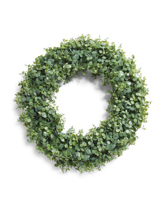 24in Faux Eucalyptus Wreath