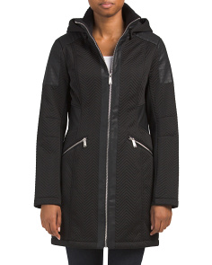 Chevron Softshell Coat