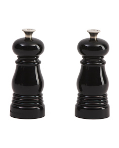2pc Petite Salt And Pepper Mills