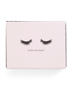 16ct Assorted Makeup Print Note Card Set