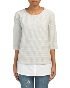 Dixie Textured Sweater