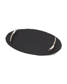 Oval Chili Handle Serving Tray