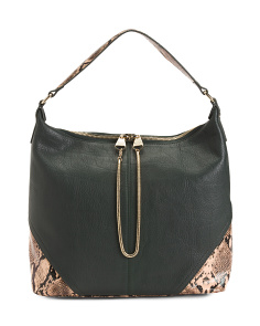 Leather Leo Hobo