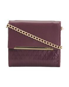 Mira Leather Crossbody