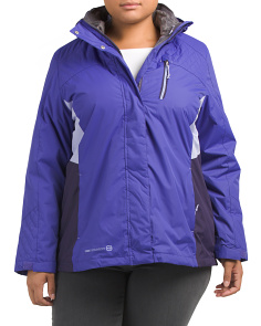 Plus 3-in-1 Jacket With Hood