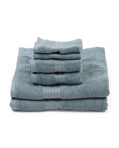 Made In India 6pc Towel Set