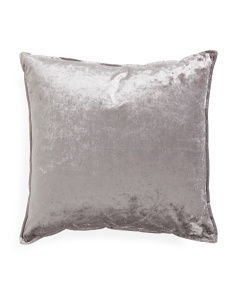 22x22 Textured Velvet Pillow