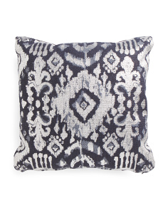 Made In India 20x20 Ikat Pillow